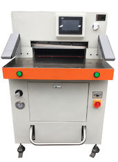 China Program Control Automatic Paper Cutting Machine 670mm High Accuracy supplier