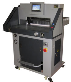China Industrial Program Control Electric Paper Guillotine Cutter Machine Max Cutting 720mm supplier