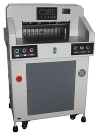China Hydraulic Programmable Paper Cutting Machine 490mm With Digital Display supplier