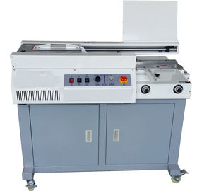 China 320mm A4 Binding Machine , Perfect Book Binding Machine With Sun Milling Cutter distributor