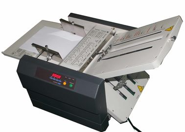 China Automatic Desktop Post Press Equipment Paper Folding Machine For A3 / A4 Size distributor