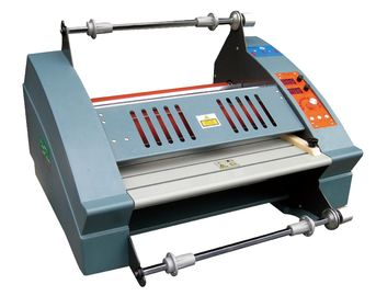 China High Precision No Curling Book Lamination Machine For Paper And PVC Card distributor