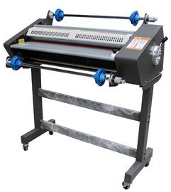 China 650mm Hot And Cold Roll Laminator Machine With LCD Display Reverse Function distributor