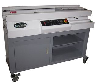 China Automatic Book Paper Notebook Making Machine With Microcomputer Control distributor