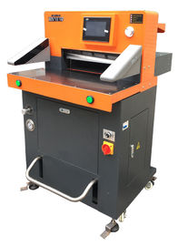 China Program Control Semi Automatic Paper Cutting Machine 490mm Semi Automatic Paper Cutter distributor