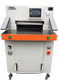 China Fully Automatic Paper Cutting Machine 490mm Size Office Automatic Paper Cutter distributor