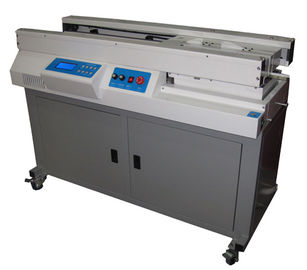 China Hot Glue Melting A3 And A4 Binding Machine With Dual Rail Touch LCD Display distributor